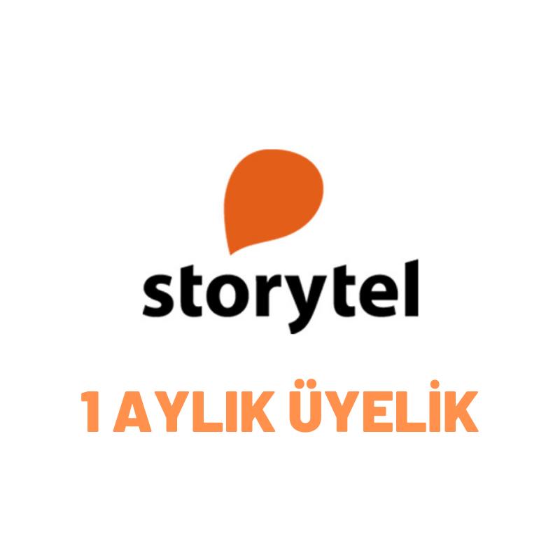 1 Aylık Storytel Üyeliği