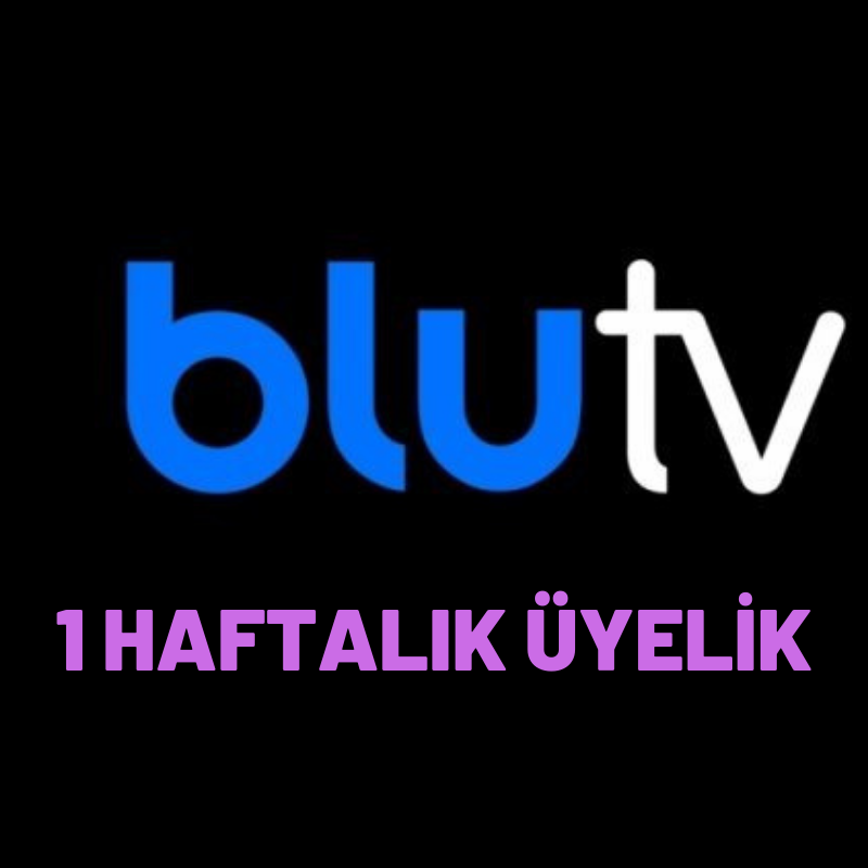 1 Haftalık Blu TV Üyeliği